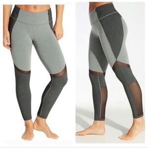 Calia Tight Fit Mesh Detail Workout Leggings NEW